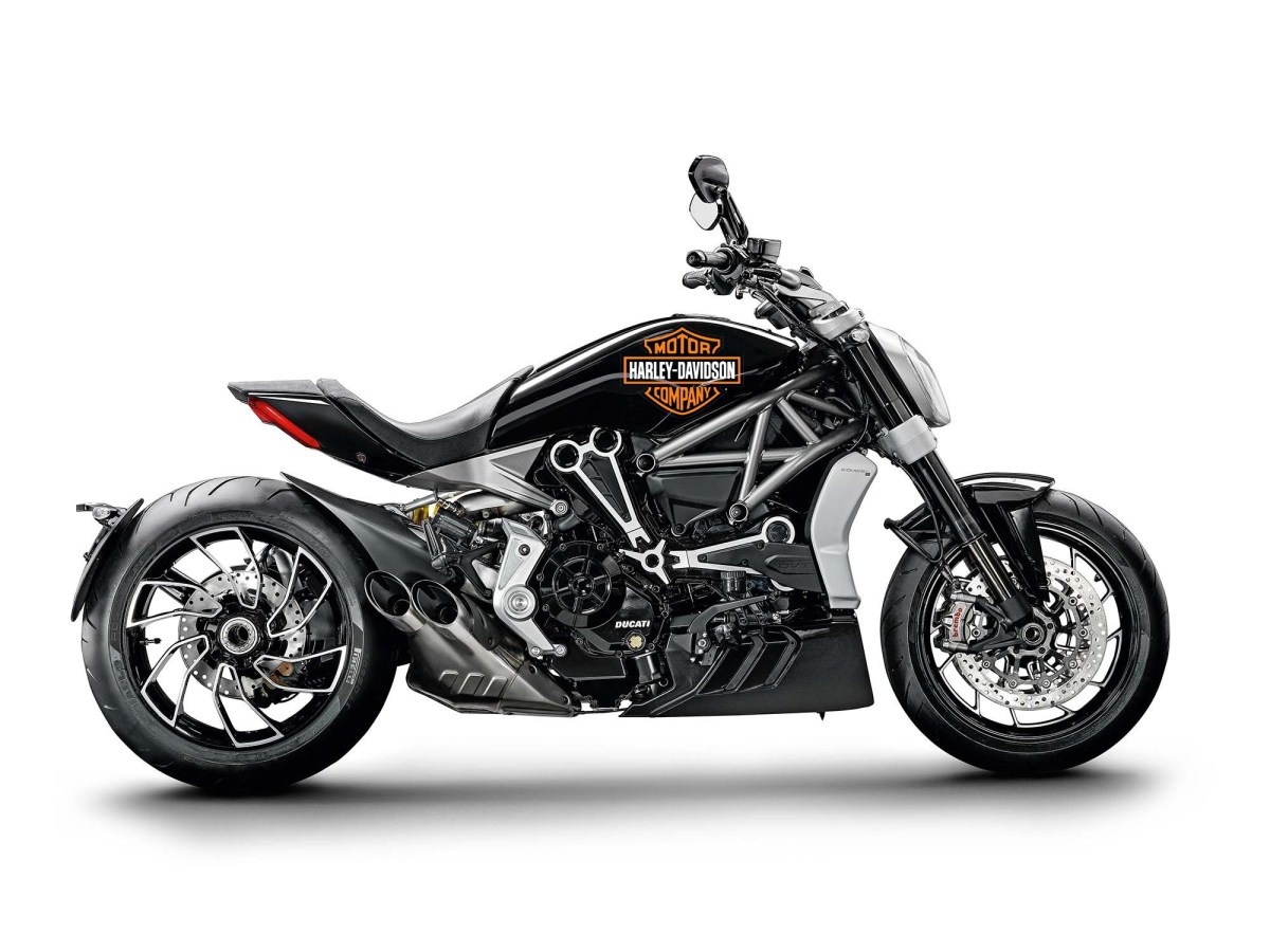 Report: Harley-Davidson Looking to Buy Ducati